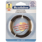 Beadalon Round German Style Wire - 20 Gauge
